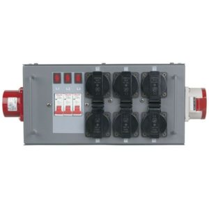 Showtec quadro elettrico split power 16