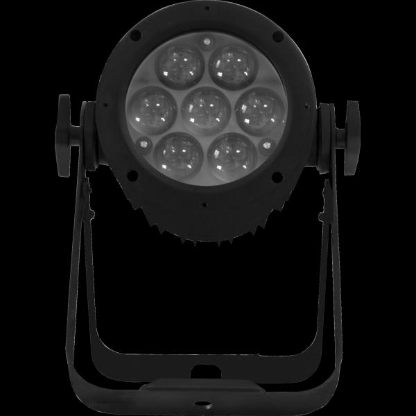 par LED indoor con zoom